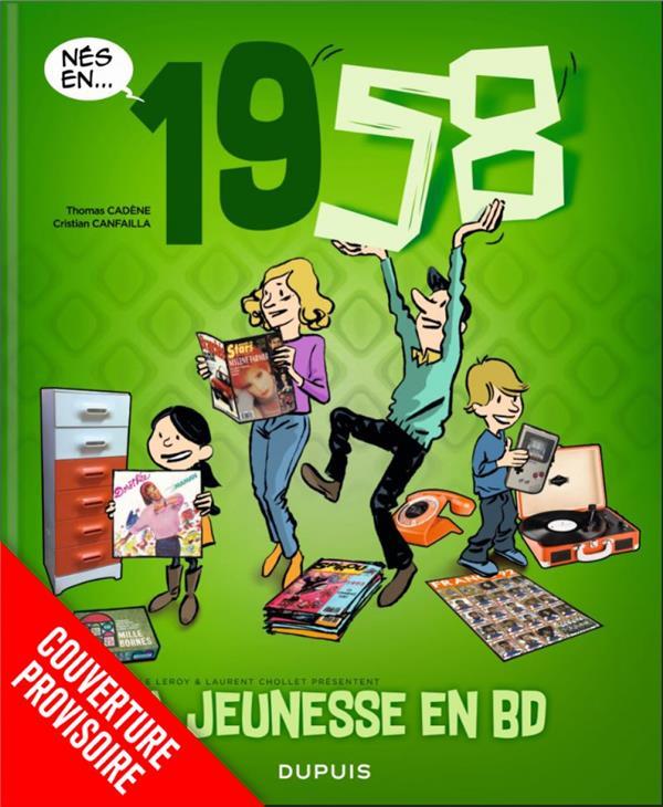 MA JEUNESSE EN BD - TOME 2 - 1958
