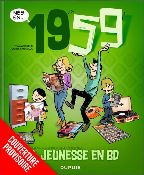 MA JEUNESSE EN BD - TOME 3 - 1959