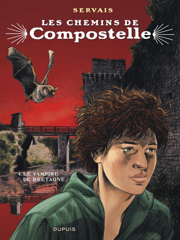 COMPOSTELLE T4 LES CHEMINS DE COMPOSTELLE - TOME 4 - LE VAMPIRE DE BRETAGNE