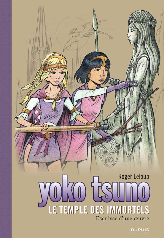 YOKO TSUNO T28 LE TEMPLE DES IMMORTELS GRAND FORMAT
