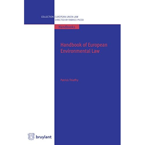 HANDBOOK OF EUROPEAN ENVIRONMENTAL LAW