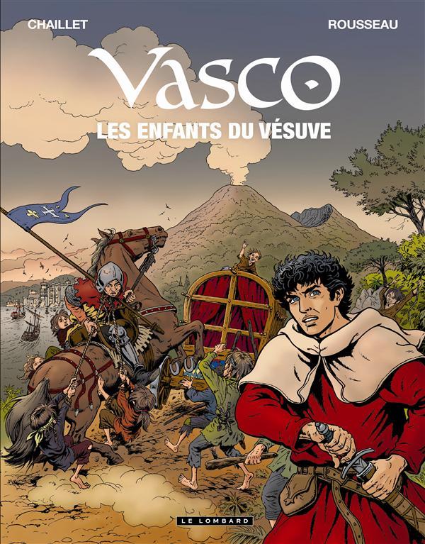 VASCO - TOME 25 - LES ENFANTS DU VESUVE