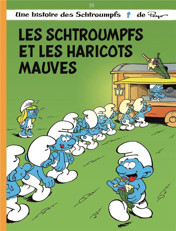 LES SCHTROUMPFS T35 LES SCHTROUMPFS ET LES HARICOTS MAUVES