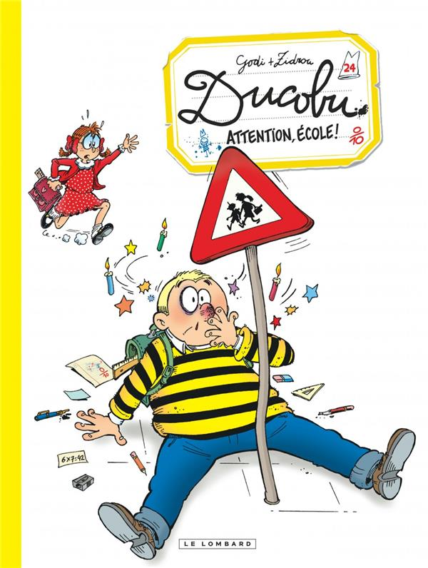 DUCOBU  - TOME 24 - ATTENTION, ECOLE!