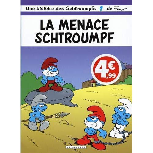 LES SCHTROUMPFS LOMBARD - TOME 20 - LA MENACE SCHTROUMPF (INDISPENSABLES 2020)