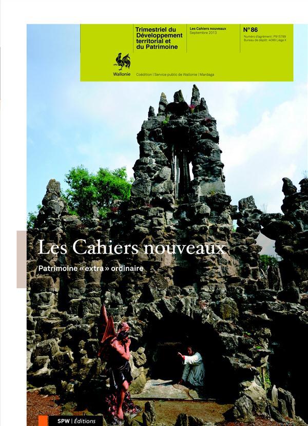 """CAHIERS NOUVEAUX N86 - PATRIMOINES """"EXTRA""""-ORDINAIRES"""