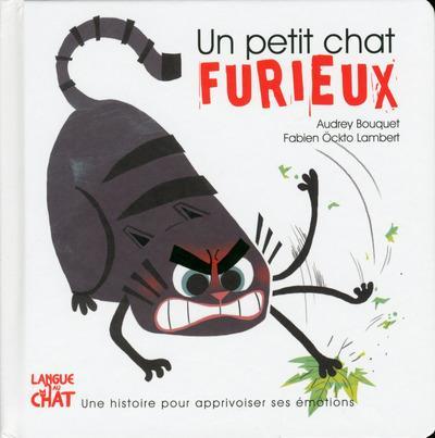 UN PETIT CHAT FURIEUX - LES EMOTIONS DE PETIT CHAT