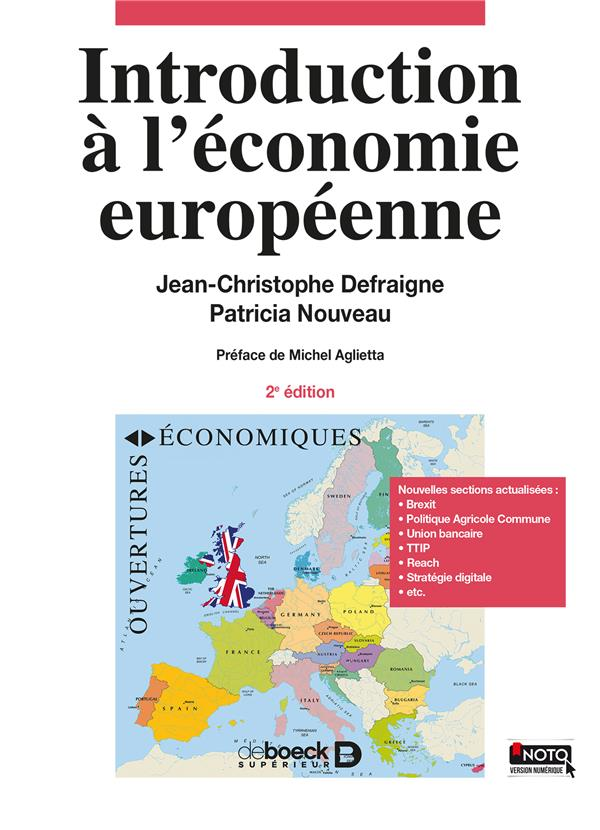 INTRODUCTION A L'ECONOMIE EUROPEENNE 2ED