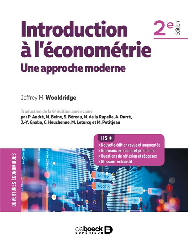 INTRODUCTION A L'ECONOMETRIE