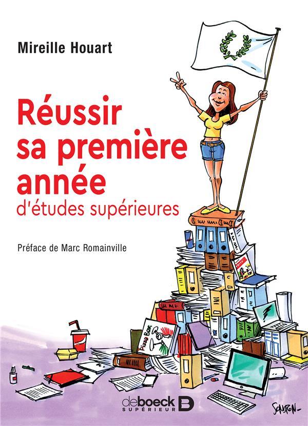 REUSSIR SA PREMIERE ANNEE D'ETUDES SUPERIEURES