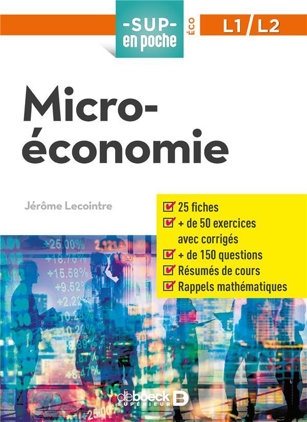 MICRO-ECONOMIE