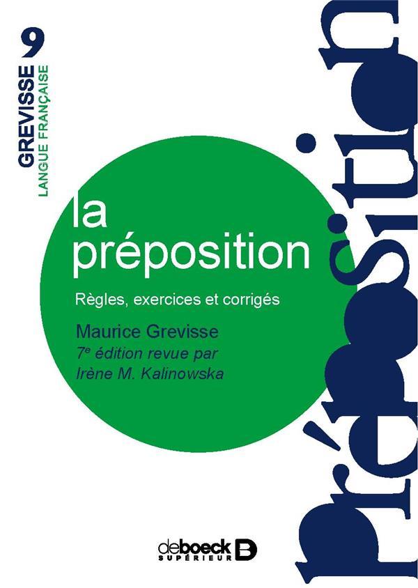 PREPOSITION (LA)