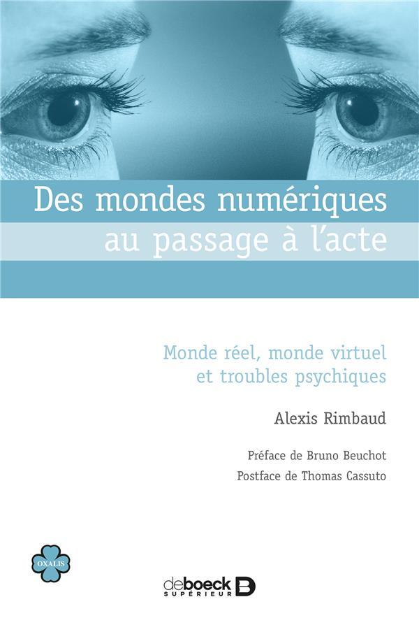 MONDES NUMERIQUES AU PASSAGE A L'ACTE (DES)