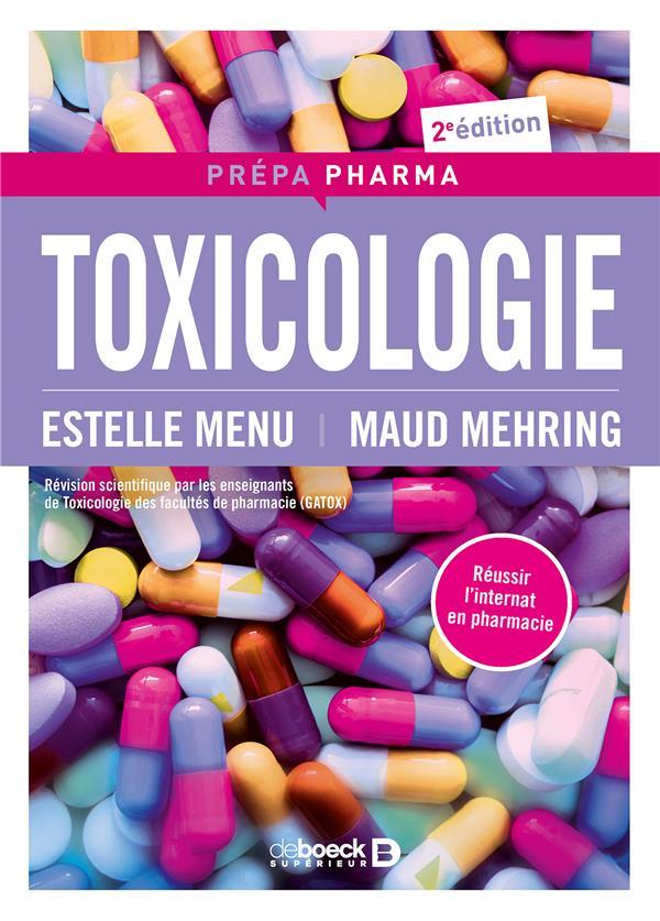 TOXICOLOGIE 2E EDITION