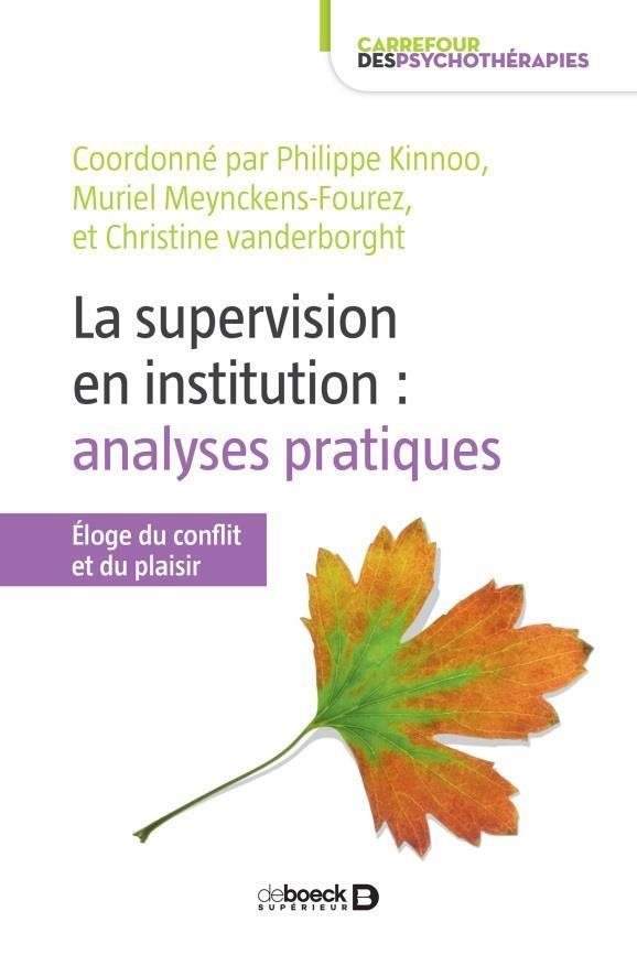 SUPERVISION EN INSTITUTION ET ANALYSE DES PRATIQUES