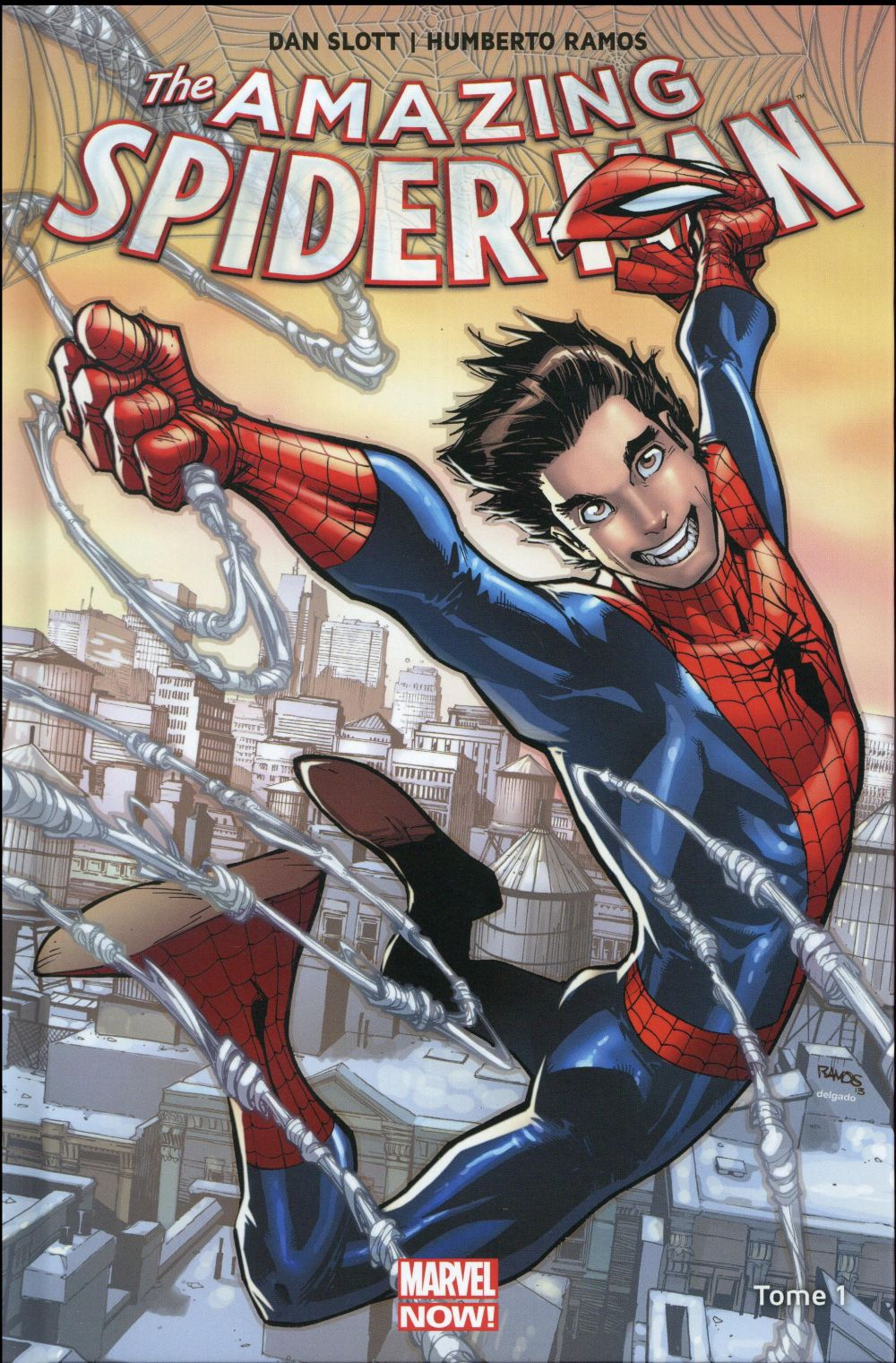 THE AMAZING SPIDER-MAN MARVEL NOW T01