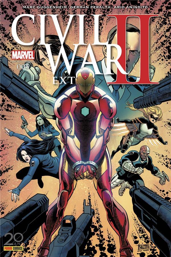 CIVIL WAR II EXTRA N 5