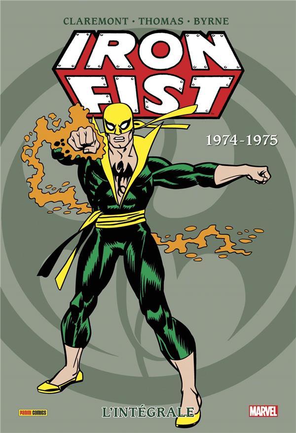 IRON FIST INTEGRALE T01 1974-1975