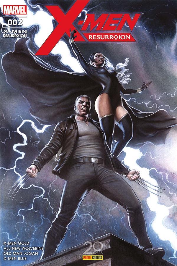X-MEN : RESURRXION N 2