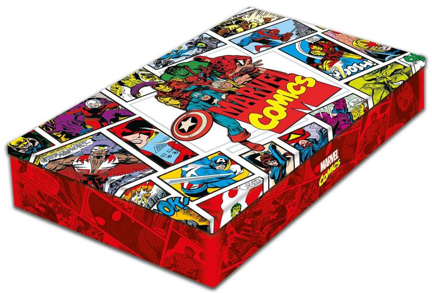 MARVEL LES ORIGINES + COFFRET METAL
