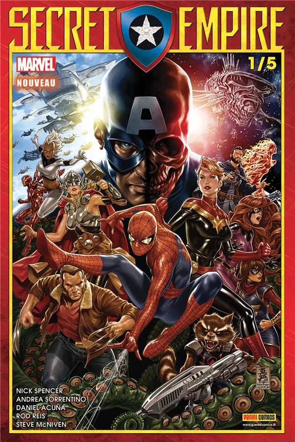 SECRET EMPIRE N 1