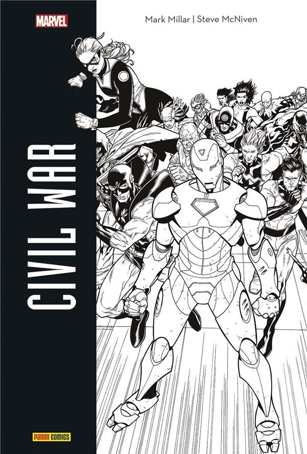 CIVIL WAR (ED. N&B)