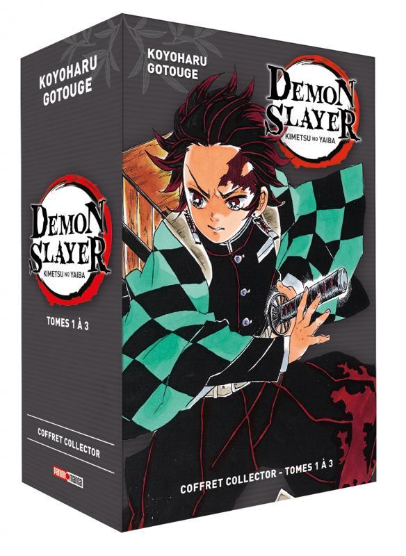 COFFRET DEMON SLAYER T01 A T03