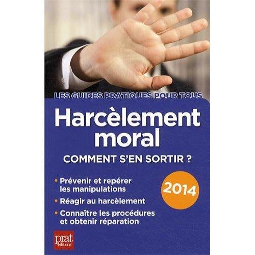 HARCELEMENT MORAL 2014