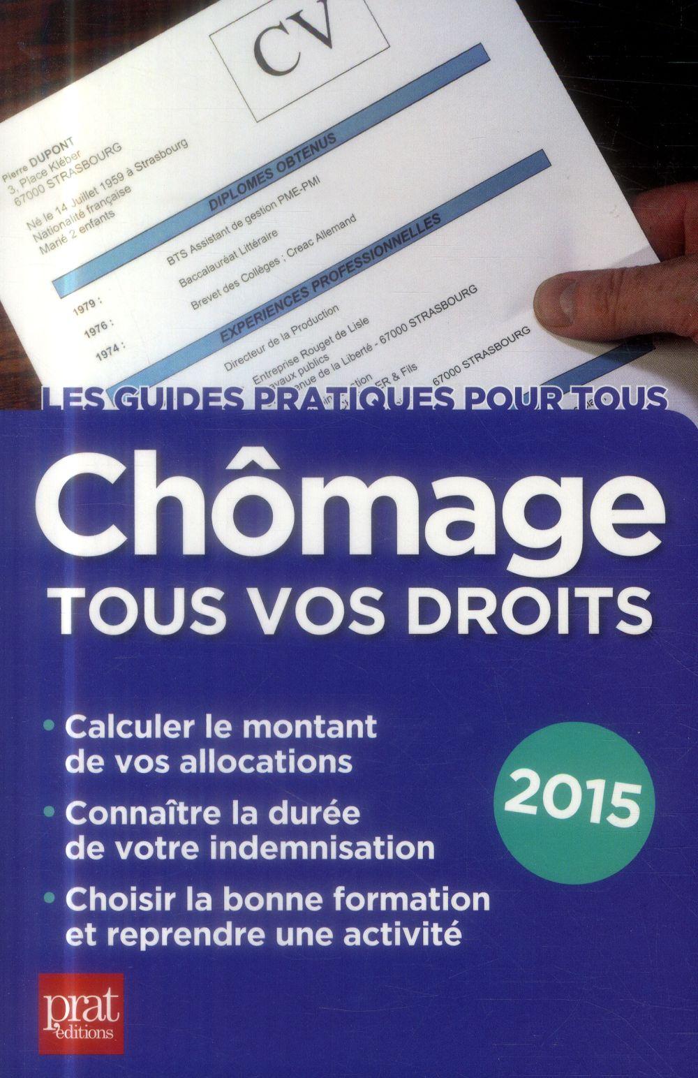 CHOMAGE TOUS VOS DROITS 2015