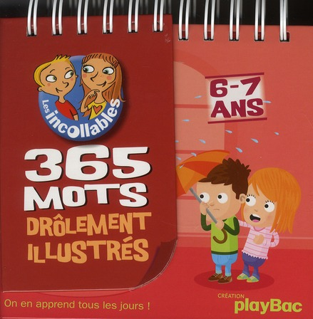 365 MOTS ILLUSTRES - 6/7 ANS