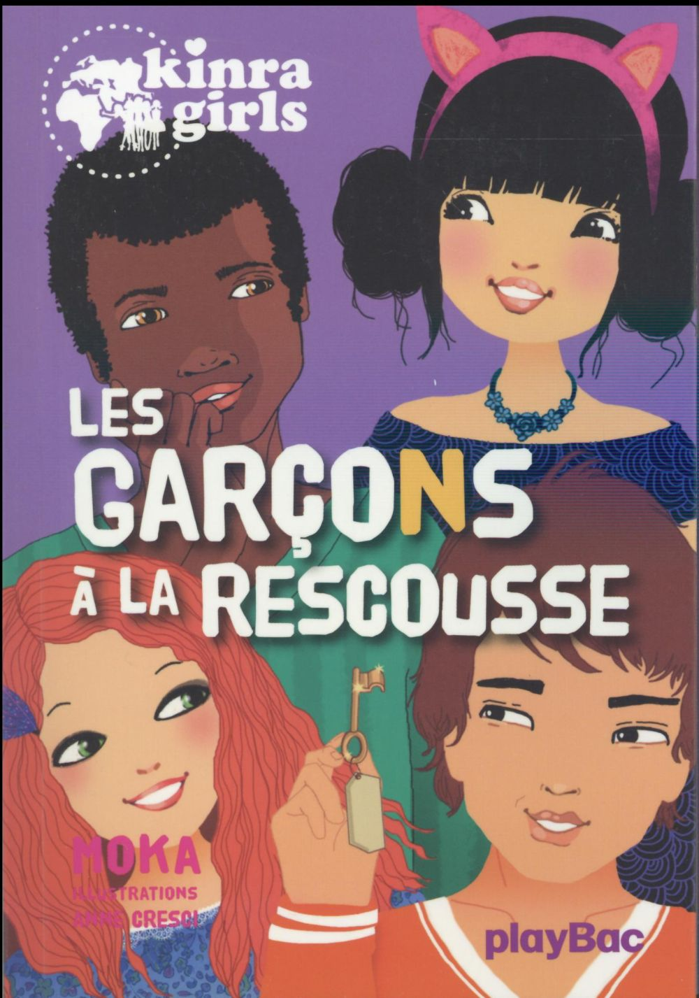 KINRA GIRLS - LES GARCONS A LA RESCOUSSE - TOME 17