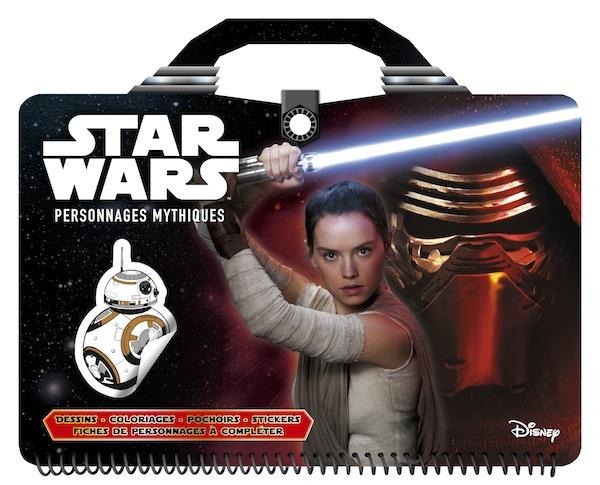 STAR WARS - CAHIER CREATIF - PERSONNAGES MYTHIQUES