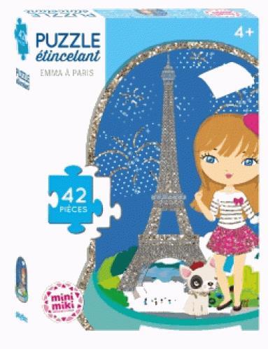 MINIMIKI - PUZZLE ETINCELANT - EMMA A PARIS