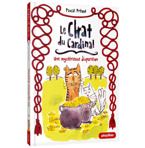 LE CHAT DU CARDINAL - UNE MYSTERIEUSE DISPARITION - TOME 2