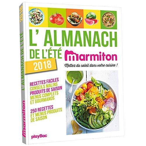 L'ALMANACH DE L'ETE 2018 MARMITON