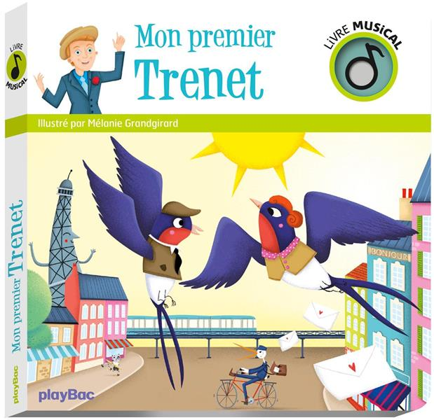 LIVRE MUSICAL - MON PREMIER TRENET