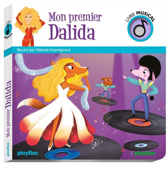 LIVRE MUSICAL - MON PREMIER DALIDA