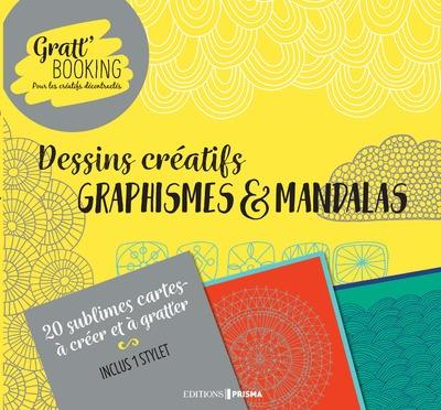 GRATT'BOOKING DESSINS CREATIFS GRAPHISMES & MANDALAS