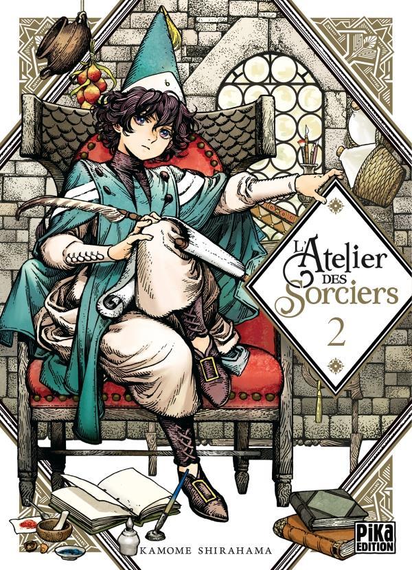 L'ATELIER DES SORCIERS T02