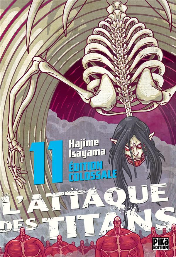 L'ATTAQUE DES TITANS - EDITION COLOSSALE - L'ATTAQUE DES TITANS EDITION COLOSSALE T11