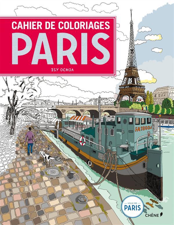 CAHIER DE COLORIAGES PARIS