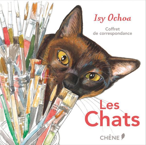 COFFRET DE CORRESPONDANCE LES CHATS D'ISY OCHOA