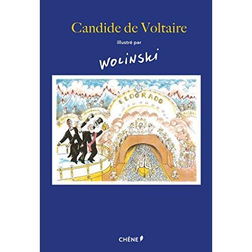 CANDIDE DE VOLTAIRE ILLUSTRE PAR WOLINSKI