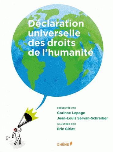 DECLARATION UNIVERSELLE DES DROITS DE L'HUMANITE ILLUSTREE PF