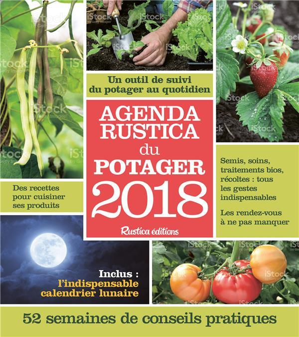 AGENDA RUSTICA DU POTAGER 2018