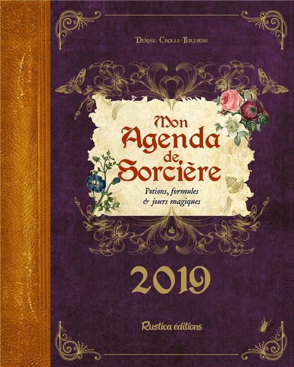 MON AGENDA DE SORCIERE 2019