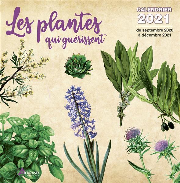 CALENDRIER PLANTES QUI GUERISSENT 2021
