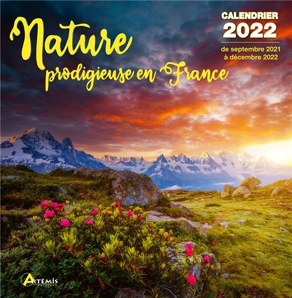 CALENDRIER NATURE PRODIGIEUSE 2022
