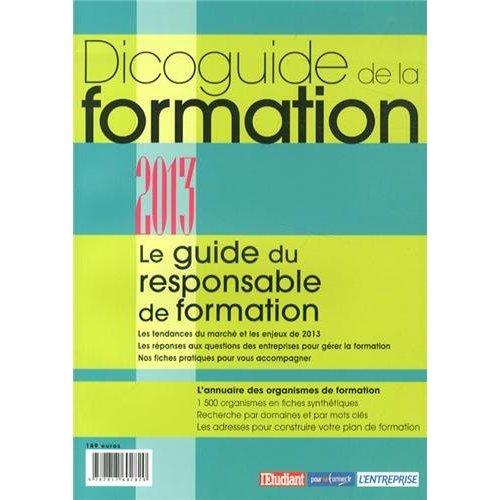 DICOGUIDE DE LA FORMATION 2013