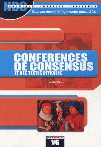 NDC CONFERENCES DE CONSENSUS